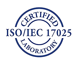 ISO IEC 17025 Certified Laboratory